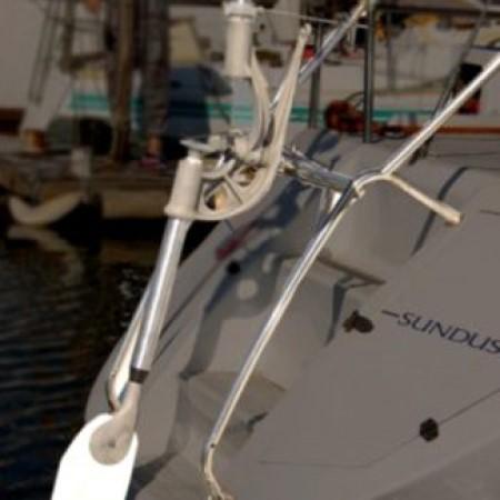 How the Neptune yacht windvane self steering works