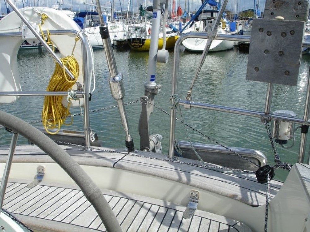 Wheel adapter for Neptune yacht windvane self steering